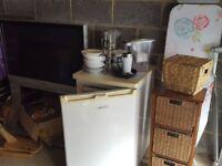 Bargain Kitchen tv freezer microwave Garage Sale drawers shelf coffee table