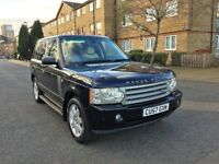 LAND ROVER RANGE ROVER VOGUE SE 3.6 TD V8 FULL SERVICE HISTORY FULLY LOADED 2007