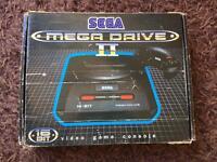 Sega boxed megadrive 16 bit retro console