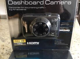Ideal Christmas present - Dash Board Camera. Brand new still in sealed packaging