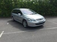 Peugeot 307 S HDi ESTATE MOT END SEPTEMBER 18 (silver) 2003