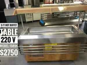 BRAND NEW AND USED HOT BUFFET /STEAM TABLES WITH WARRANTY AT SINCO FOOD EQUIPMENT SINCO.CA WE SHIP ACROSS CANADA