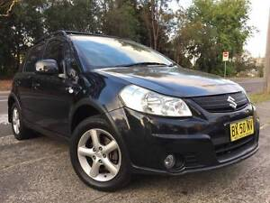2008 Suzuki SX4 Auto 4x4 Hatch LOW KS LONG REGO BLACK BEAUTY A1 Sutherland Sutherland Area Preview