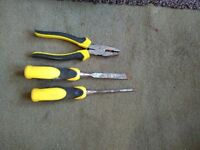 Various building tools