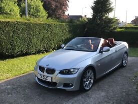 BMW 325i M sport 2010 Cabriolet 19 inch refurbed alloys with 4 brand new tyres