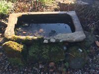 Stone Trough Bird Bath