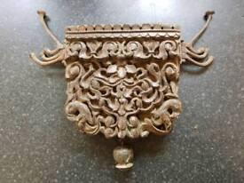 Antique indian coat hooks x2 18 centry