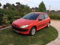 Peugeot 206 1.4l 5 door