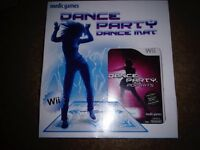 Nintendo Wii dance mat and game