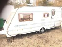 Abbey impression 520 4berth 19ft Motor mover and full awning