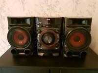 LG Hi-Fi sound system