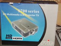 HD projector and 100 inch screen