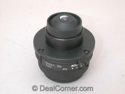Nikon Microscope Abbe Condenser For Eclipse