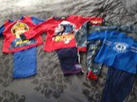 Boys PJs aged 3-4
