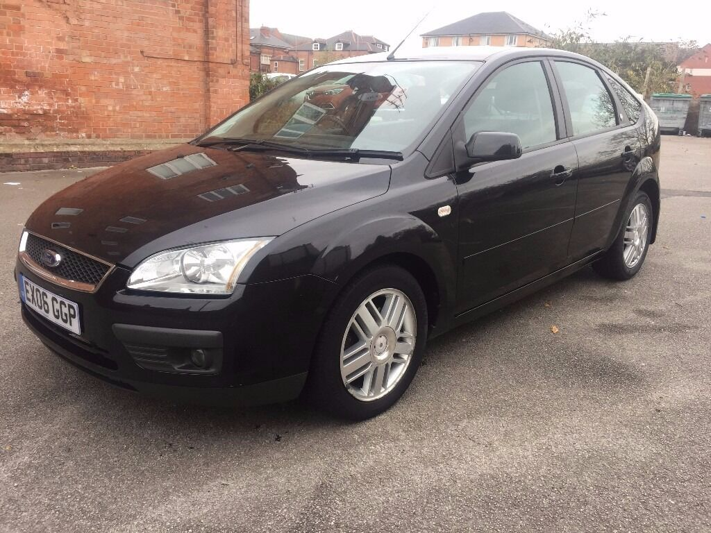 Ford Focus 1.6 Ghia 5dr Automatic Full MOT Serviced 2x Remote Keys