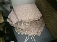 8 Dining chair covers.
