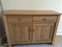 Oak coloured unit from Next