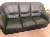 Sofa chair and foot stool