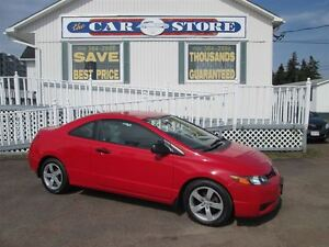 2008 Honda Civic DX 2 DR COUPE!! AUTOMATIC!! AC!! ALLOYS!!