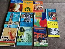 Nc and hnc early education and childcare books.