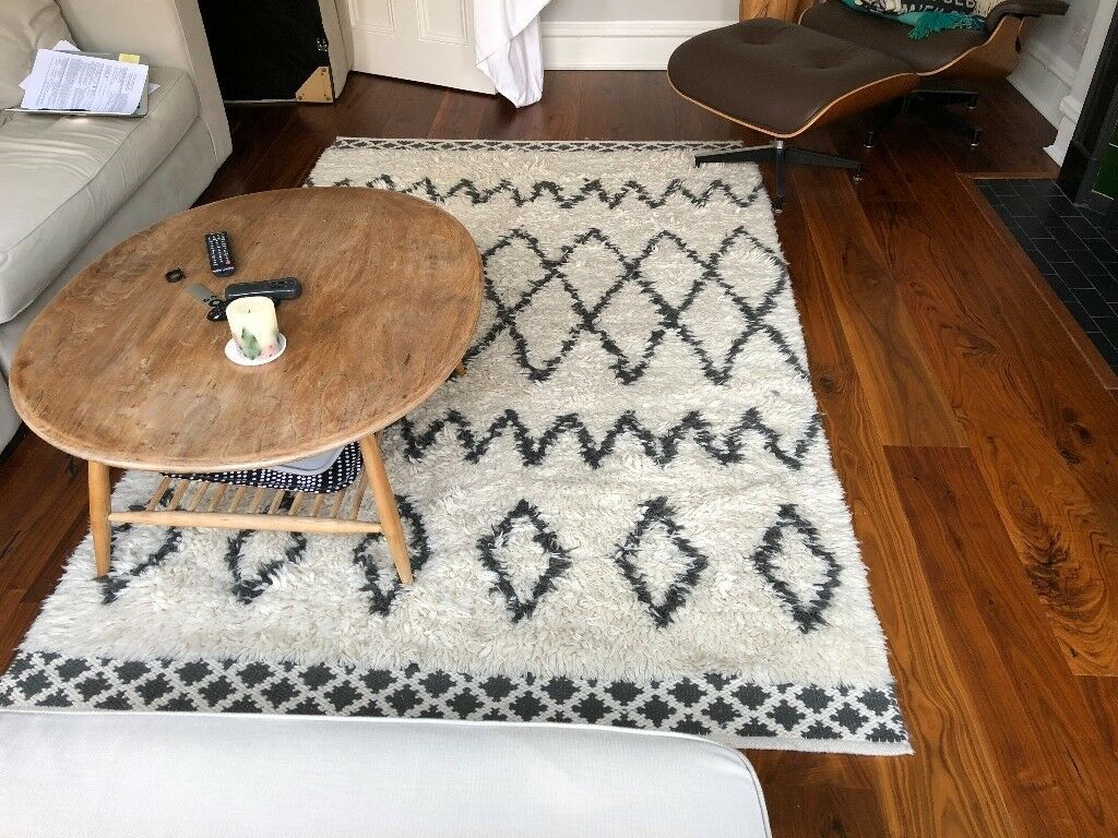 West Elm Kasbah Wool Rug In Ivory In Angel London Gumtree