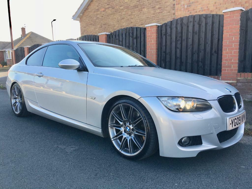 2009 bmw 335d m sport auto satnav leather e92 coupe 3. Black Bedroom Furniture Sets. Home Design Ideas