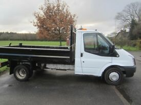 Ford Transit tipper 2013- 63 plate - warranted mileage