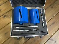 Mexco Core Drill Set 152mm and 107mm