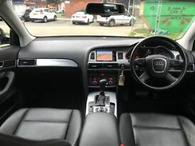 AUDI A6**AUTOMATIC**DIESEL**2 OWNERS**SAT NAV**LEATHER**FULL HISTORY**2 KEYS**HPI CLEAR**