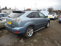 2007 LEXUS RX 350 AUTOMATIC ONLY 40K MILEAGE ENGINE AND GEARBOX ARE PERFCET YOU CAN TEST THE CAR