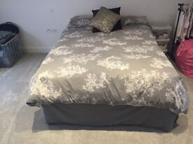 Double Divan & Mattress For Sale