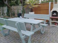 Proper garden pub bench outdoor/Garden
