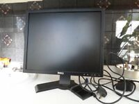 DELL COMPUTER MONITOR GOOD WORKING ORDER