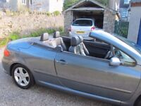 2003 Peugeot 307cc 2.0 Petrol
