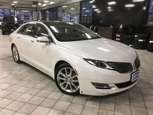 2014 Lincoln MKZ Hybrid Reserved, Panoramic Moonroof, Navigation
