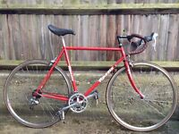 Classic Red Rossin Race Bike (55cm) Fully Serviced - For Sale