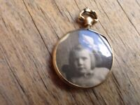 9ct Gold Victorian Picture Locket