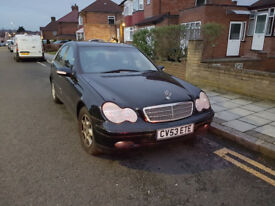 Mercedes C Class C180, 2003 MODE,L AUTOMATIC, w203 BREAKING ALL SPARES PARTS, blacl