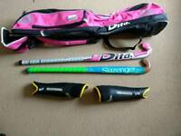 Pink Dita Hockey kit