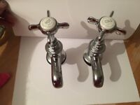 LEFROY BROOKS BATH SHOWER MIXER AND BASIN TAPS