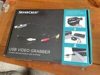 Silvercrest Video Grabber. Convert vhs ans camcorder movies to digital