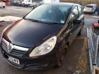 Vauxhall Corsa D Bonnet in Black 2007