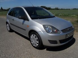 FORD FIESTA 1.25 STYLE CLIMATE ONLY 65000 MILES LONG MOT. GOOD FIRST CAR.