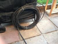Electricians - armoured cable for wiring shed or outbuilding