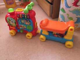 VTech Alphabet Sit On Train