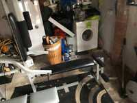 weights and gym equipment and multi gym
