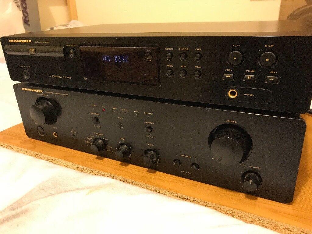 Marantz PM4200 Amp / CD4000 CD Player and