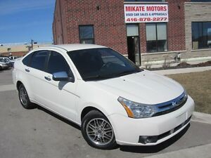 Sharp 2011 Ford Focus SE, With 2 Sets of Tires, Cert. & E-Tested