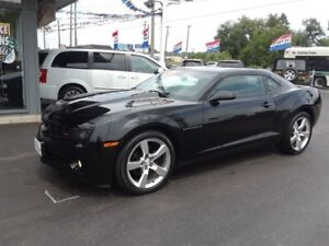 2010 Chevrolet Camaro BLACK RS PACKAGE  PURCHASE AS LOW $100 DOW
