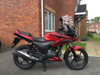 Immaculate, low mileage Honda CBF125
